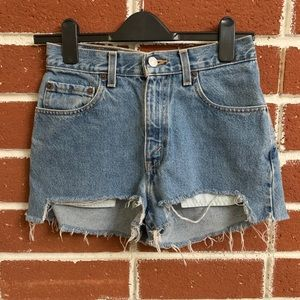 Urban Outfitters Levi's Renewal Shorts